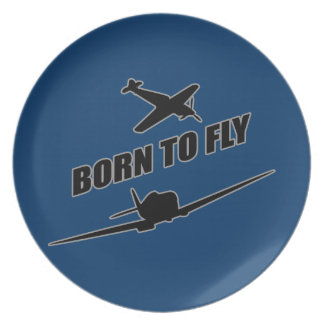 Born To Fly Plate
