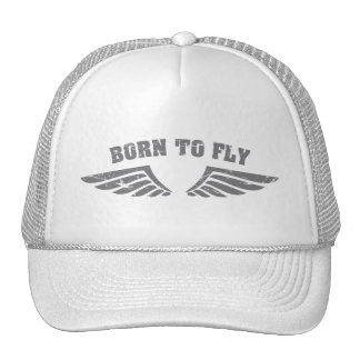 Born To Fly Wings Cap