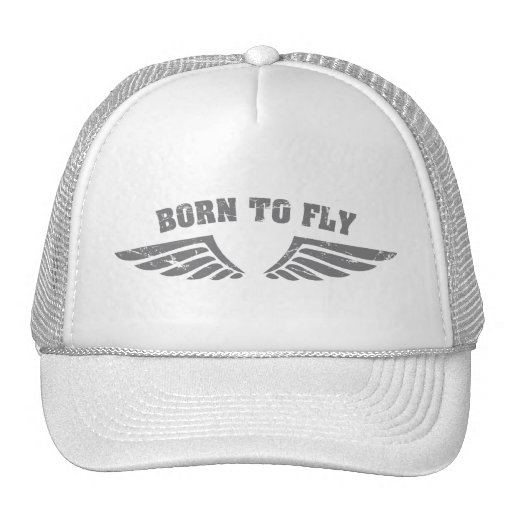 Born To Fly Wings Hat