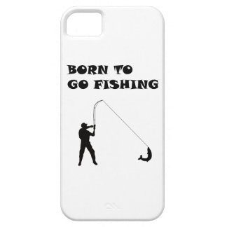 Born to go fishing iPhone 5 case
