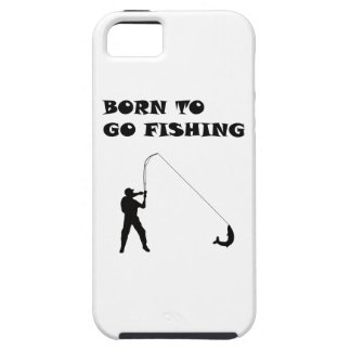 Born to go fishing iPhone 5 covers