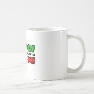 Born To Golf...Forced To Work Coffee Mug