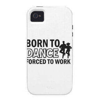 born to line-dance iPhone 4 case