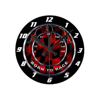 Born to race speedometer clocks