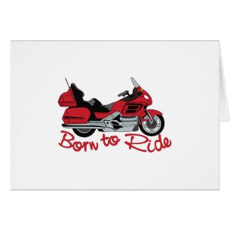 Born To Ride Card