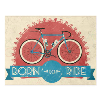 Born to Ride Postcard