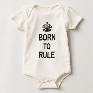 Born to Rule Baby Bodysuit