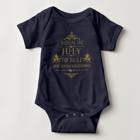 Born to Rule the Seven Kingdoms Baby Romper