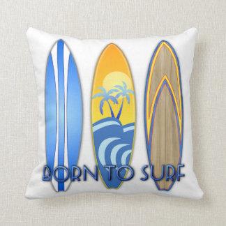 Born To Surf Cushion