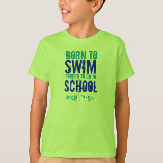 Born To Swim - Kids T-Shirt