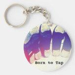 Born to Tap Dance Keychain