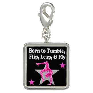 BORN TO TUMBLE, LEAP AND FLY GYMNAST