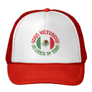 Born Victorious Cinco De Mayo Trucker Hat