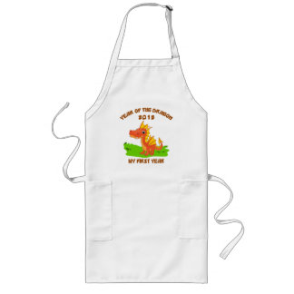 Born Year of The Dragon 2012 Baby Gift Long Apron