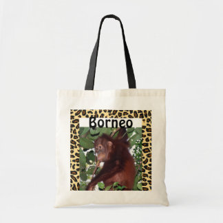 Borneo Indonesia Vacations Budget Tote Bag