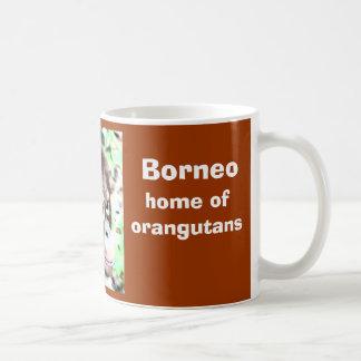 Borneo Island of Orangutans Basic White Mug