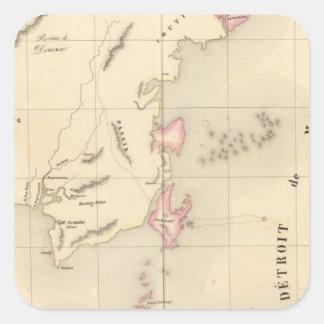 Borneo Oceania no 20 Square Sticker