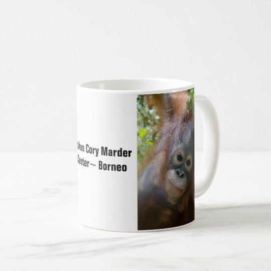 Borneo Orangutan Orphan Rescued by OFI Coffee Mug