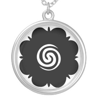 Borneo rose necklace