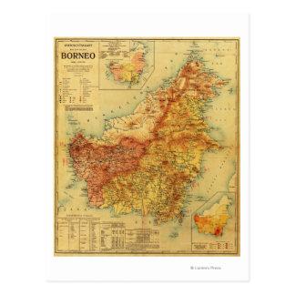 BorneoPanoramic MapBorneo Postcards