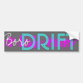 BORO DRIFT - Night Bumper Sticker