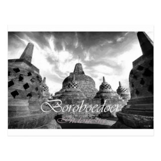 Boroboedoer Tample series of Postcard