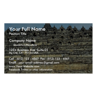 Borobudur, Java, Indonesia Pack Of Standard Business Cards