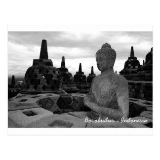 Borobudur Postcard