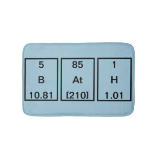Boron Astatine Hydrogen (BAtH) Bath Mat