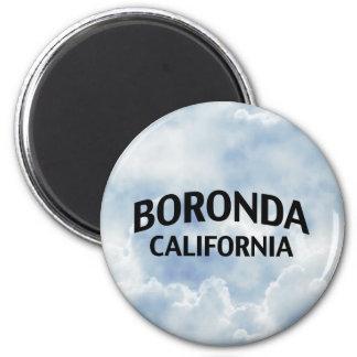 Boronda California Refrigerator Magnets