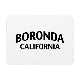 Boronda California Rectangular Photo Magnet