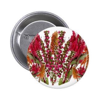 Boronia Lipstick Flower Show 6 Cm Round Badge