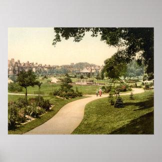 Borough Gardens, Dorchester, Dorset, England Print