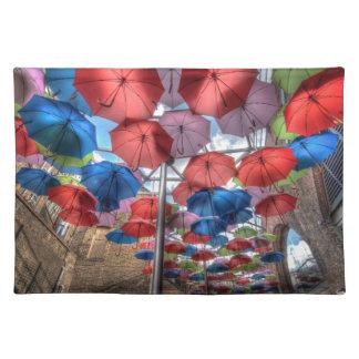 Borough Market umbrella art, London Placemat