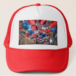 Borough Market umbrella art, London Trucker Hat