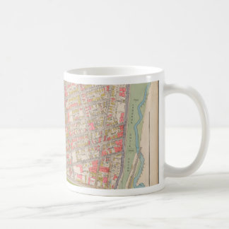 Borough of the Bronx map Coffee Mug