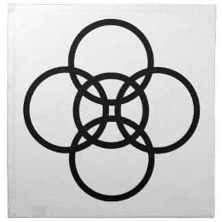 Borromean-Cross Napkin