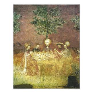 "Borromeo ""The Trocchi Player"" Print Photo Print"