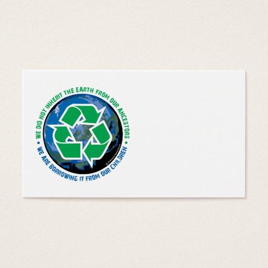 Borrowed Earth Business Card