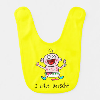 Borscht Baby Bib