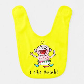 Borscht Baby Bibs