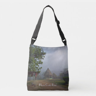 Boruca - Costa Rica Experience in a Remote Village Crossbody Bag