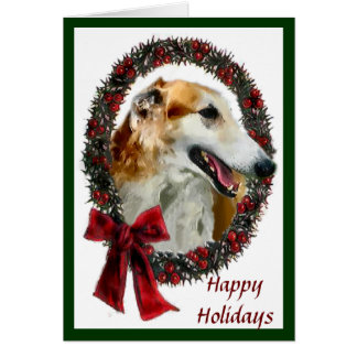 Borzoi Christmas Cards