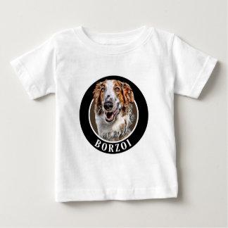 Borzoi Dog 002 Baby T-Shirt