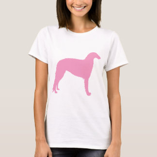 Borzoi Dog (pink) T-Shirt
