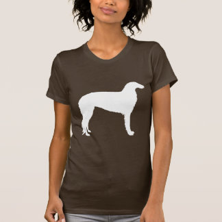 Borzoi Dog (white) T-Shirt