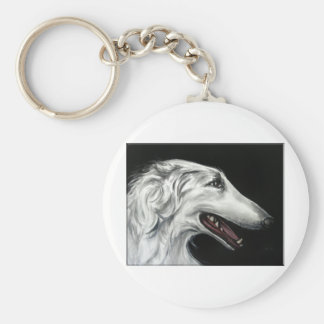 borzoi key ring