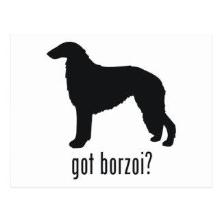 Borzoi Postcard
