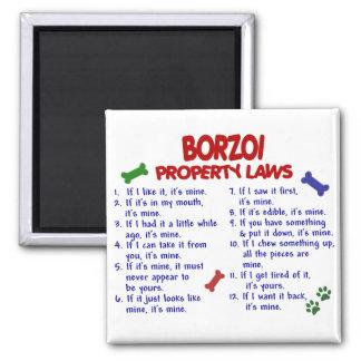 BORZOI Property Laws 2 Magnet