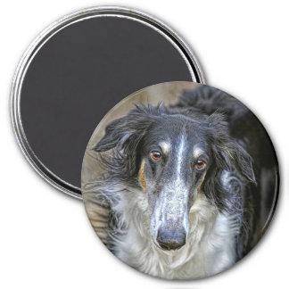 Borzoi Rescue Dog Magnet